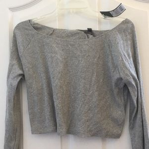 NWT wild fable cropped tee